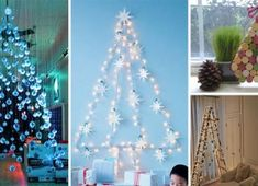 Christmas is always beautiful, isn't it? But what if you want to make it more beautiful this year? Are you prepared with some new ideas for Christmas or will you use the same old ideas and ornaments like you do, every year? Advent, Christmas Tree, Inspiration, Canning, Ornaments, Holiday Decor, How To Make, Beautiful, Home Decor