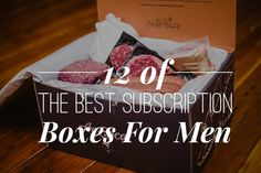 We discover and review the best Subscription Boxes for Men. Great gifts for Christmas!