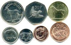 So glad I went to Ireland and saved my Irish coins before the Euro! Old Irish, Irish Celtic, Celtic Pride, Celtic Art, Love Ireland, Ireland Travel, Erin Go Bragh, Irish Eyes Are Smiling, Irish Roots