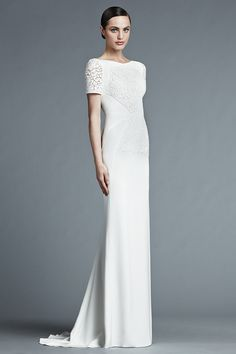 J. Mendel Spring 2015 Bridal Collection  | itakeyou.co.uk #weddingdress