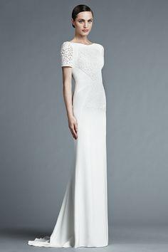 J. Mendel Spring 2015 Bridal Collection    itakeyou.co.uk #weddingdress