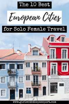 Are you a #solo #female #traveler looking for a great city to visit in 2018? Then check this article out. Expert travel bloggers reveal the 10 cities in Europe that you need to visit if you're a solo female traveler in 2018! So check it out and see if your favorite European city made the list! #wanderlust #Europe #travel