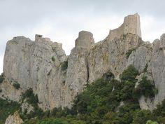 Chateau de Peyrepertuse, France