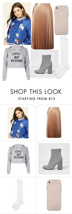 """""""Cloudy"""" by luisa-katerina ❤ liked on Polyvore featuring Miss Selfridge, River Island and Kate Spade"""