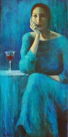 "Nicoletta Tomas Caravia ""I have been painting since I was 27 years old. Art Et Illustration, Spanish Artists, Portrait Art, Portraits, Art Plastique, Figure Painting, Woman Painting, Figurative Art, Female Art"
