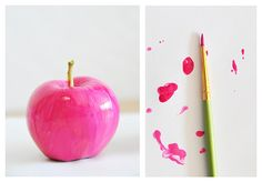 pink apple for my desk... not because i'm a teacher, but just because i love it.