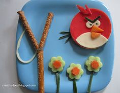 AngryBirds lunch ;-)