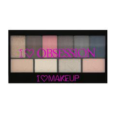 I ♡ Makeup I ♡ Obsession palette-Paris - 3 for 2! I ♡ Makeup selected palettes - PALETTES