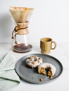 Moist and Delicious Gluten Free Carrot Cake Donuts Recipe with Goat Cheese Glaze - The Effortless Chic