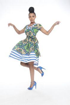 Lulu Katia Striped Dress
