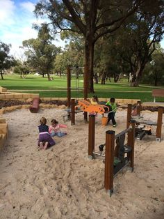 New Nature Play Space at Mawson Park in Hillarys Play Spaces, Perth, Playground, Nature, Children Playground, Naturaleza, Outdoor Playground, Nature Illustration, Off Grid