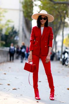 Colors That Go with Red Clothes - What to Wear: With Red - StyleBistro