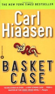 Basket Case by Carl Hiaasen,http://www.amazon.com/dp/044661193X/ref=cm_sw_r_pi_dp_6Oowsb0XSEMB459V