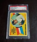 Baseball 1960 Topps #134 Deron Johnson Rookie New York Yankees PSA NM 7 BEAUTY