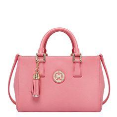 METROCITY pink tote bag