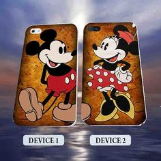 Classic Mickey and Minnie Disney Couples Phone by polkadotcase