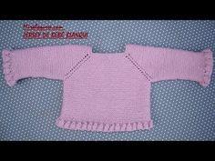 DIY & crafts projects, contents and more - Diy Crafts Diy Como Hacer Blusa Para Bebe Patrones 430445676882366020 P Diy Crafts Knitting, Knitting For Kids, Baby Knitting Patterns, Baby Patterns, Crochet Baby, Knit Crochet, Baby Barn, Point Mousse, Bebe Baby