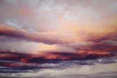 exoticwild:  boho-coconut:   electric-wish:  The sky does some seriously beautiful things sometimes.   omg is this not a painting?!   How richly textured the sky is!