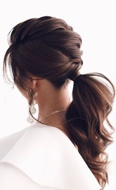 Best Wedding Hairstyles, Pretty Hairstyles, Kid Hairstyles, Girl Haircuts, Hairdos, Updos, Braids For Short Hair, Short Hair Styles, Braids For Wedding
