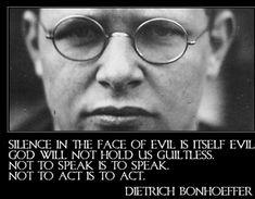 Dietrich Bonhoeffer on Communication #quotes