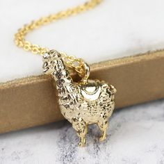 419618df5 Looking for Ladies' Costume Jewellery? Take a look at our quirky Llama  Necklace in