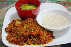 Tawa Pulao is the famous street food of Mumbai and is cooked in the same tawa in which pav bhaji is made. The vegetables used are also similar to the ones put in pav bhaji. We will try to replicate the same recipe here. However, I have used a flat deep pan instead on tawa. Rice is Dawat Brown Rice for the fibre. Vegetables like beetroot and carrot it added to make it healthier.