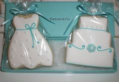tiffany blue bridal shower cookies..when i get married i want these at my ridal shower!