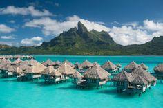 St. Regis Bora Bora Resort - Perfect island getaway   More pictures at: http://luxurylifedesign.blogspot.com/2013/07/the-st-regis-punta-mita-resort.html