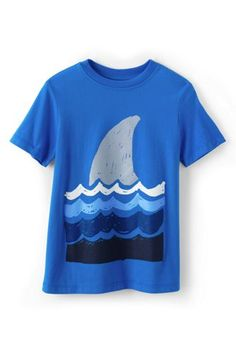 Make for swim - Boys Graphic Tee from Lands' End