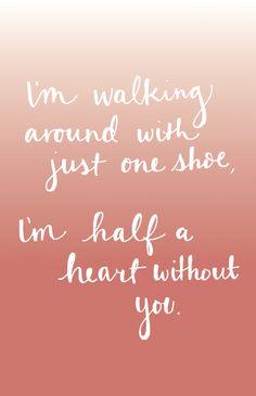 Half A Heart - One Direction #onedirection #halfaheart #onedirectionlyrics