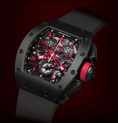 Richard Mille RM 011 DLC Titanium Marcus Limited Edition watch