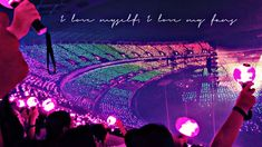 """"""" I hope every army will get the chance one day 💜💙💚💛🧡❤️"""" Army Wallpaper, Bts Wallpaper, Galaxy Wallpaper, Shop Bts, J Hope Gif, Concert Crowd, Bts Army Bomb, Bts World Tour, Bts Love Yourself"""