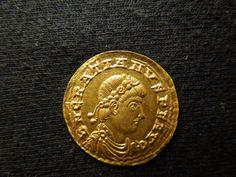 GRATIAN ROMAN SOLIDUS GOLD COIN.......367 - 375 AD......RARE.....SOURCE EBAY.COM.............