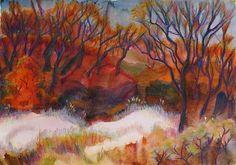 Осенний лес. Октябрь