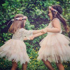 """200 mentions J'aime, 3 commentaires - MyFashionBabyStore (@myfbs.fr) sur Instagram: """"Les plus jolies demoiselles d'honneur sont en MyFBS Robe LOUNA et robe LEELOU. Livraison…"""""""