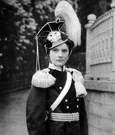 Tatiana Nikolaevna in uniform - 1912