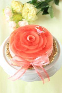 「母の日!真っ赤なレアチーズケーキ」kaiko | お菓子・パンのレシピや作り方【corecle*コレクル】
