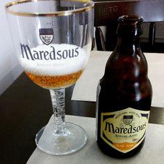 Maredsous com direito a copo da marca