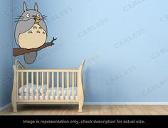 Totoro Inspired  Totoro Tree Flute Wall Art Applique by carl895, $49.99