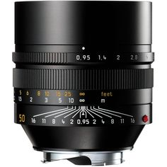 Leica Noctilux-M 50 mm f/0.95 ASPH - Yeah, and it's only $10,500