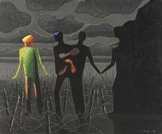 Vilhelm Bjerke Petersen ~ Surrealist /Abstract painter | Tutt'Art@ | Pittura * Scultura * Poesia * Musica |