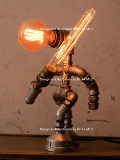 Materials: cast iron, water pipe, iron pipe, plumbing pipe, cast iron pipe *Voltage: - AC and everything in between; Urban Industrial Lamps are hand Pipe Lighting, Edison Lighting, Custom Lighting, Industrial Style Lamps, Urban Industrial, Steampunk House, Steampunk Lamp, Punk Decor, Twig Furniture