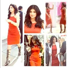 Kylie Jenner Worn Owned Topshop Maxi Dress 2 COA Topshop Maxi Dress straight from the closet of Kylie Jenner and purchased at the estate sale of Tyga. Item is 100% Authentic and comes with its own Certificate of Authenticity from Collector's Shangri-La (see photos for details) and signed by ISA-certified proprietor Kevin Segall (UACC Registered Dealer #310, Manuscript Board of Trustees, International Society of Appraisers, Ephemera Society, National Cartoonists Society).  Item is good…