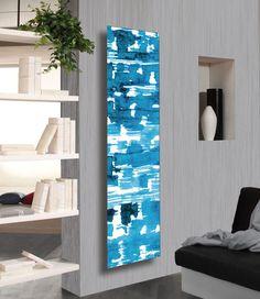 10 shades of blue | Frame Lagoon radiator, Mariano Moroni, Cordivari, 2012
