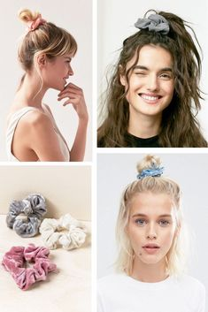 Get innovative hair care tips and hints. – Your 365 Hair – Hair Clips Scrunchies, Hairstyles For Round Faces, Messy Hairstyles, Scrunched Hair, Banana For Hair, Hair Upstyles, Diy Hair Accessories, Love Hair, Bad Hair