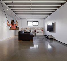 Concrete polish floor- Projet Jeanne d'Arc - AtelierB