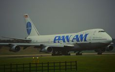 Pan Am Boeing 747-100 with upper deck!