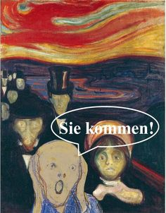 "anxiety-by-edvard-munch. EDVARD MUNCH – Modernist in his context, Munch could be also considered the first expressionist painter in history. Works like ""The Scream"" are vital to understanding the twentieth century painting. Amedeo Modigliani, Edward Munch, Giacometti, Google Art Project, Illustration Art, Illustrations, Art Institute Of Chicago, Wassily Kandinsky, Oeuvre D'art"