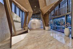 [Starting] Shanghai Xuhui Riverside platinum Hyatt sales office design - design…