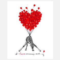 Love Carries All, by Rococco-LA is a fantasy cocktail of my own original artwork, vintage ephemera, illusion, reality, past, future, and lots of imagination! When these lovely prints are hung, they immediately become conversation pieces! – Zlatka Paneva, Artist and Owner, Rococco-LA